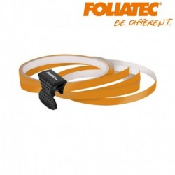 Liseret orange 6mm de large sur 4x 2,15m de long jante carénage moto scooter