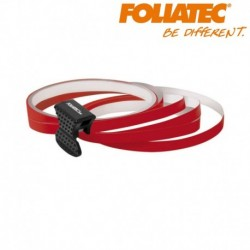 Liseret rouge 6mm de large sur 4x 2,15m de long jante carénage moto maxi scooter