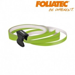 LISERET VERT 6mm DE LARGE SUR 4x 2,15m DE LONG JANTE CARENAGE MOTO MAXI SCOOTER