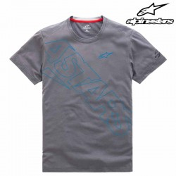 T-shirt homme Alpinestars Pampalona Ride Dry Gris