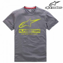 T-shirt homme Alpinestars Source Ride Dry Gris