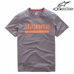 T-shirt homme Alpinestars Stated Ride Dry Gris