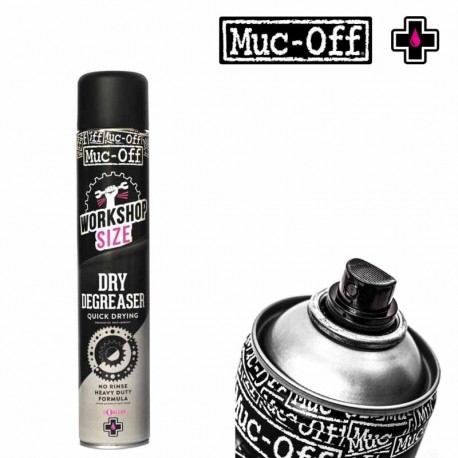 Spray dégraissant à sec moto MUC-OFF Dry Degreaser 750 ml