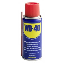 Bombe spray 100ml WD-40 lubrifiant multifonctions sans silicone