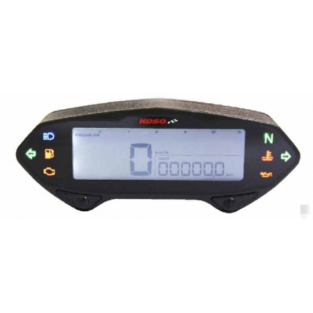 Compteur digital multifonctions Koso DB-01RN universel moto scooter enduro