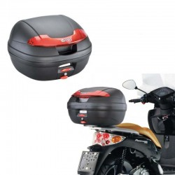Top case Givi E340 noir Monolock 34L pour moto scooter