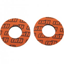Donuts anti-cloques ODI orange vendu par paire moto cross scooter enduro