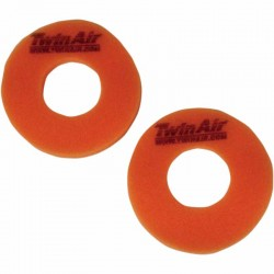 Donuts de poignée anti-cloques Twin Air Orange vendu par paire moto cross enduro