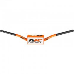 Guidon bas tout-terrain mousse incluse Neken 85cc Orange fluo
