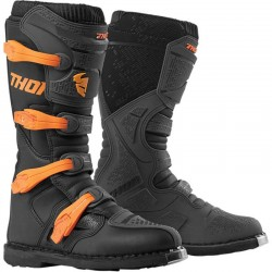 Bottes moto cross homme THOR BLITZ XP Orange/Gris