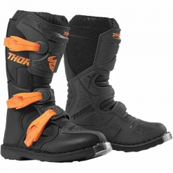 BOTTES MOTO CROSS ENFANT THOR BLITZ XP ORANGE / GRIS