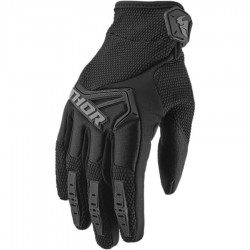 Gants moto cross homme THOR SPECTRUM BLACK Noir/Gris
