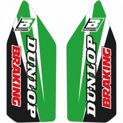 Autocollants de fourche Blackbird Dream 4 Kawasaki KX 250 F 06-08