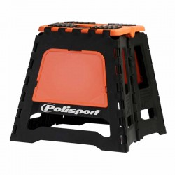 Lève moto pliable Polisport Orange