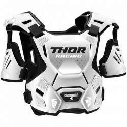 Pare-pierre enfant moto cross THOR Guardian Noir/Blanc