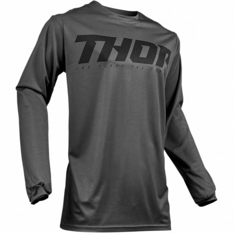 Maillot moto cross homme Thor Pulse Smoke Gris