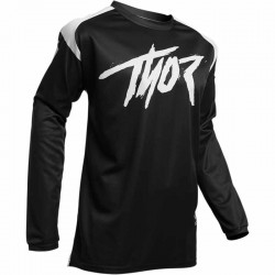 Maillot moto cross homme Thor Sector Link noir / blanc