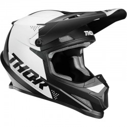 Casque moto cross Thor Sector Blade Noir / Blanc