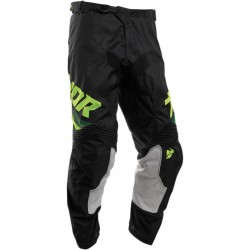 Pantalon moto cross homme Thor Pulse Pinner Noir / Acid