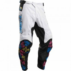 Pantalon moto cross enfant Thor Pulse Fast Boyz Blanc