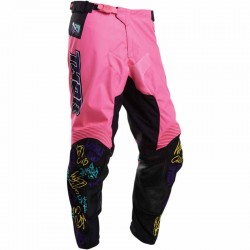 Pantalon moto cross homme Thor Pulse Fast Boyz Rose