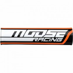Mousse de guidon Moosse Racing moto cross tout-terrain (avec barre) Orange