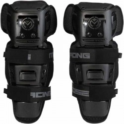 Genouillères de protection cross Moose Racing Synapse Noir