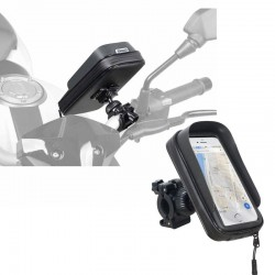 Support smartphone moto vélo Shad 160x80 mm fixation sur guidon