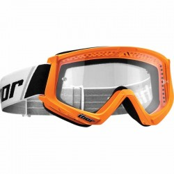 Lunette masque moto cross Thor Combat Orange / Noir