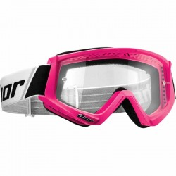 Lunette masque moto cross Thor Combat Rose / Noir