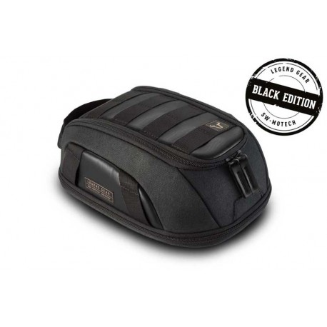 Sacoche de réservoir SW-Motech LT1 Legend Gear noir de 3 à 5.5L Black Edition