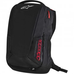 Sac à dos moto Alpinestars City Hunter Backpack noir /rouge - 25 litres