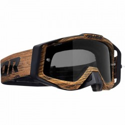 Masque Cross Thor Sniper Pro Woody - Marron / Noir
