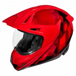 Casque moto intégral Icon Variant Pro Ascension Rouge
