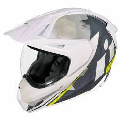 Casque moto intégral Icon Variant Pro Ascension Blanc