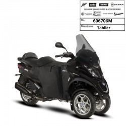 Tablier de protection modulable Origine Piaggio MP3 300 350 500 à partir de 2016