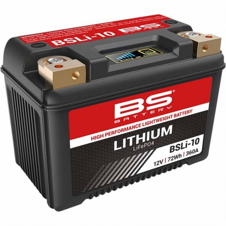Batterie BS Battery BSLi-10 Lithium-ion 12 Volts 6Ah