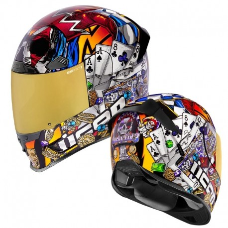 Casque intégral moto Icon Airframe Pro - LUCKYLID3