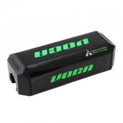 Mousse de guidon Voca Racing HB28 Noir/Vert Moto cross Tout-terrain MX