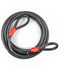 CABLE DE SECURITE LOCKFORCE DIAM15MM - L 9M SCOOTER /MAXISCOOTER/VELO /MOTO