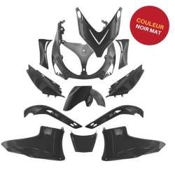 KIT CARENAGE PLASTIQUE 12 PIECES NOIR BLACK MAT YAMAHA TMAX T MAX 500 2001-2007