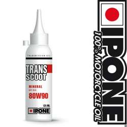 HUILE TRANSMISSION IPONE TRANSCOOT 80W90 MINERAL API GL5 125ml SCOOTER 2 TEMPS