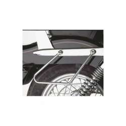 2 SUPPORT ECARTEUR CHROME POUR SACOCHE CAVALIERE HONDA CA 125 REBEL JC24/JC26