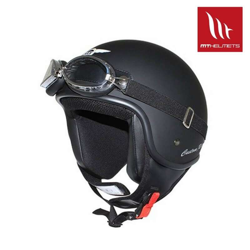 casque jet moto scooter mt helmets rider solid noir mat. Black Bedroom Furniture Sets. Home Design Ideas