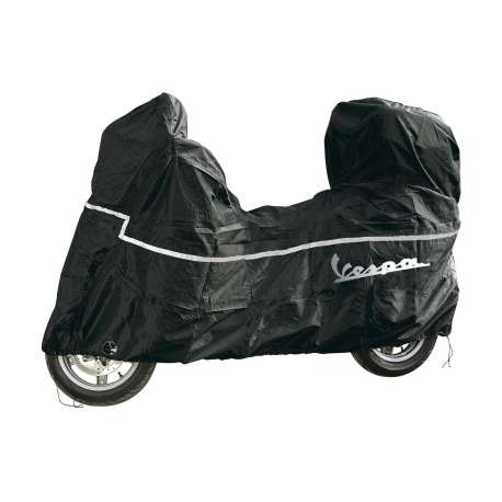 HOUSSE DE PROTECTION ORIGINE PIAGGIO NOIR SPECIFIQUE SCOOTER VESPA LX/LXV/S/PX